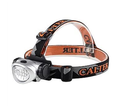 Calter Basic 10 LED - černá/oranžová