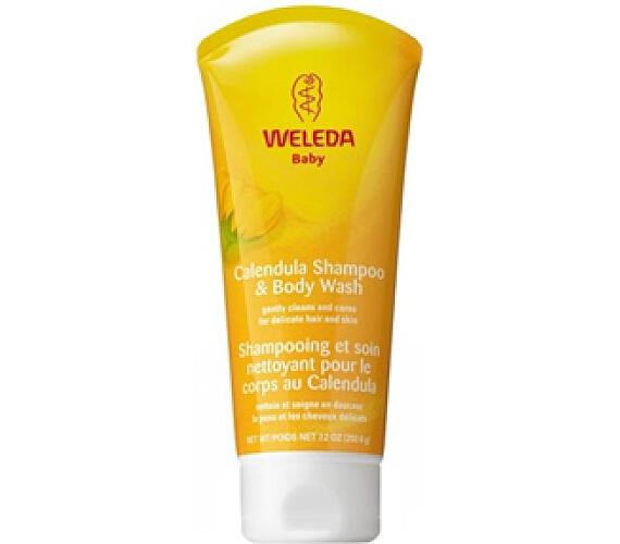 Měsíčkový dětský šampón 200 ml