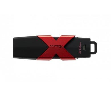 Kingston HyperX Savage 512GB USB 3.1 USB 3.0 - černý/červený