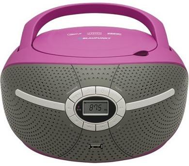 BLAUPUNKT BB6VL FM PLL CD/MP3/USB fialový + DOPRAVA ZDARMA