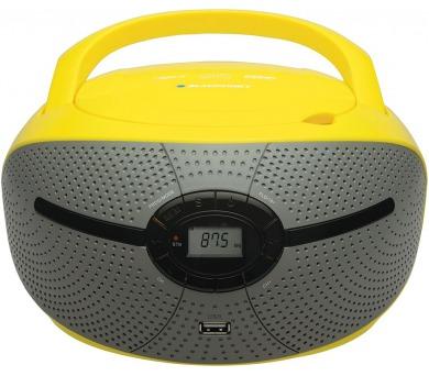 BLAUPUNKT BB6YL FM PLL CD/MP3/USB žlutý + DOPRAVA ZDARMA
