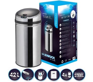 HiMAXX senzorový odpadkový koš Premium 42L + DOPRAVA ZDARMA