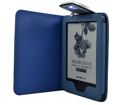 C-TECH PROTECT pouzdro pro Amazon Kindle 6 TOUCH s lampičkou