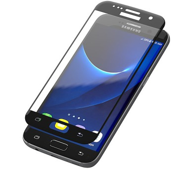 InvisibleSHIELD Glass Contour pro Samsung Galaxy S7 - černý rám + DOPRAVA ZDARMA