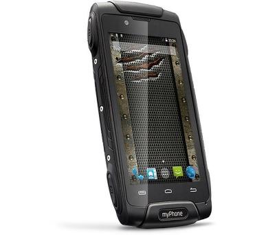 myPhone Hammer AXE 3G černý + DOPRAVA ZDARMA