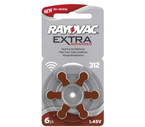 Baterie do naslouchadel RAYOVAC H312MF