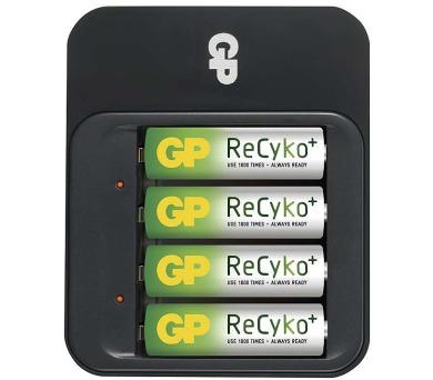 GP nabíječka baterií PB550 + 4AA ReCyko + DOPRAVA ZDARMA