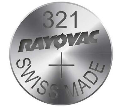 RAYOVAC 321 blistr