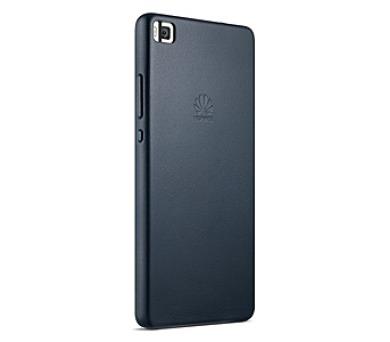Huawei P8 kožené - modrý