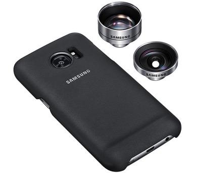 Samsung Lens Cover pro Galaxy S7 (G930) - černý + DOPRAVA ZDARMA