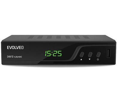 DVB-T/T2 přijímač Evolveo Omega T2 (H.265/HEVC)