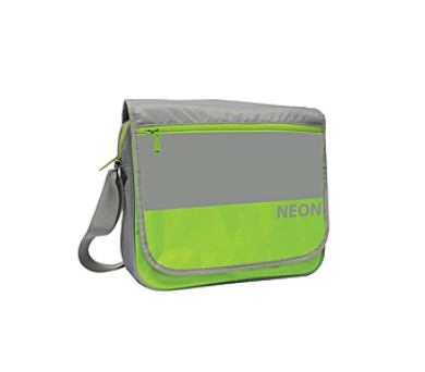 Taška přes rameno P + P Karton Neon Green + DOPRAVA ZDARMA