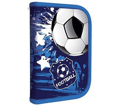 Penál školní P + P Karton jednopatrový Footbal