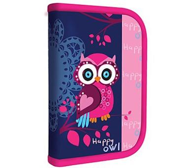 Penál školní P + P Karton jednopatrový Owl
