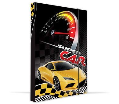 Desky na sešity P + P Karton A4 Car