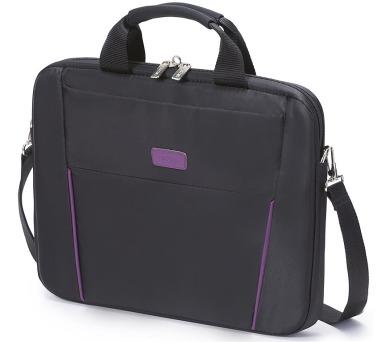 """DICOTA Slim Case BASE 14-15.6"""" - černá/růžová"""