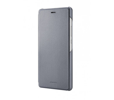 Huawei P9 Lite Flip Cover - šedé