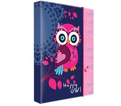 Desky na sešity P + P Karton A4 Owl