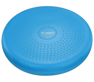Lifefit BALANCE CUSHION 33 cm - modrá