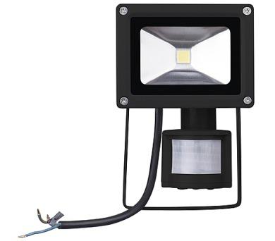 REFLEKTOR LED 10W HOBBY PIR studená bílá + DOPRAVA ZDARMA