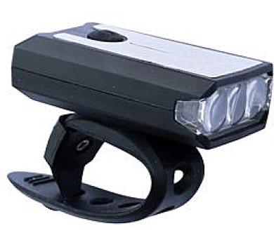 Přední světlo MAX 1 Lite 3 3xLED USB nabíjecí 21670