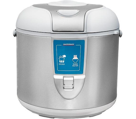 Gastroback 42507-Gastro Profi Automatický vařič rýže,obsah 3 litry,650W + DOPRAVA ZDARMA