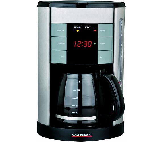 Gastroback 42703-Gastro Profi designový kávovar + DOPRAVA ZDARMA