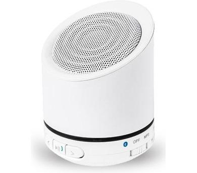 Kruger&Matz Quer KOM0806W Bluetooth reproduktor s FM rádie a MP3 přehrávačem - bílý + DOPRAVA ZDARMA