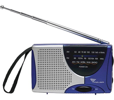 Kruger&Matz URZ2048 Azusa - Přenosný radiopřijímač mini (9x5x2cm) AM/FM