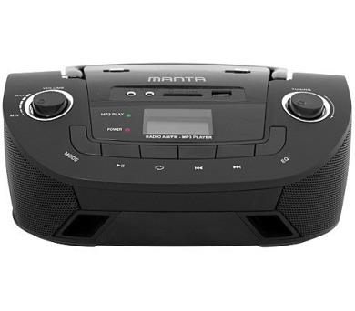 MANTA MM208 - Boombox stereo přehrávač s USB + DOPRAVA ZDARMA