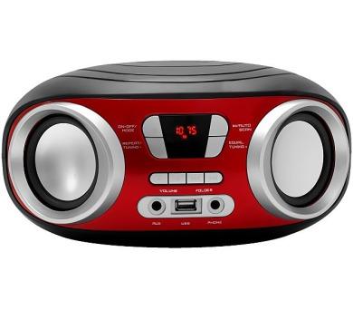 MANTA MM210 - Boombox stereo přehrávač s USB