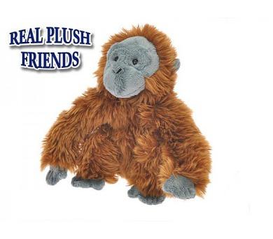 Opice plyšová 21cm v sáčku 0m+ + DOPRAVA ZDARMA