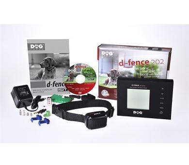 Elektronický neviditelný plot Dog Trace d-fence 202 black - bez ant. drátu
