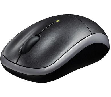 Logitech Wireless Mouse M217 / optická / 3 tlačítka / 1000dpi - černá + DOPRAVA ZDARMA