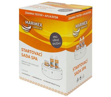 AquaMar Start. sada Spa (Aktivátor 0,6; Odpěňovač 0,6; Kysl. tab. 0,5; Tester) + DOPRAVA ZDARMA