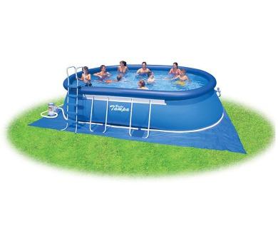 Bazén Tampa ovál 3,05x5,49x1,07m kompl.+KF + DOPRAVA ZDARMA
