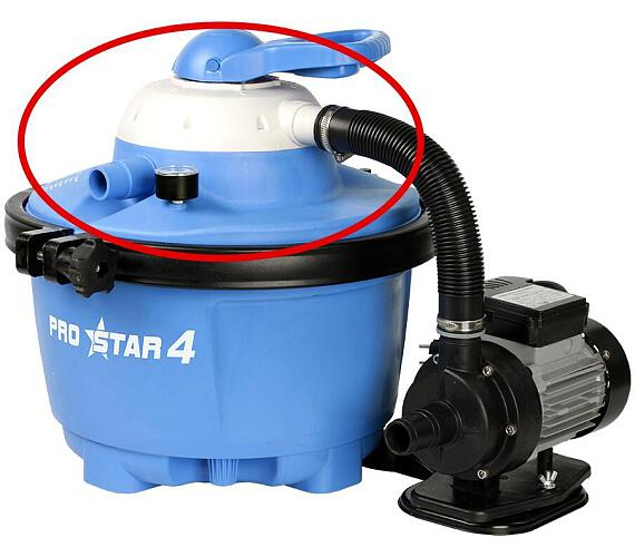 Víko filtrační nádoby Prostar - komplet