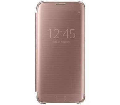 Samsung Clear View pro Galaxy S7 Edge (EF-ZG935CZ) - růžové + DOPRAVA ZDARMA