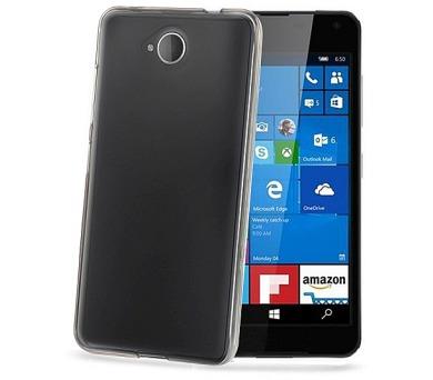 Celly Gelskin pro Microsoft Lumia 650 - průhledný