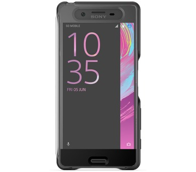 Sony SCR50 pro Xperia X - černé + DOPRAVA ZDARMA