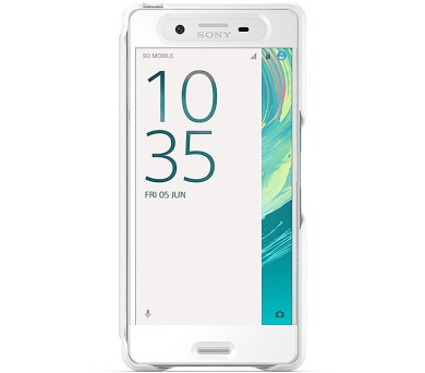 Sony SCR50 pro Xperia X - bílé + DOPRAVA ZDARMA