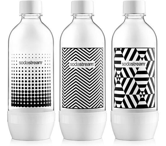 Sodastream Lahev TriPack 1l Black&White