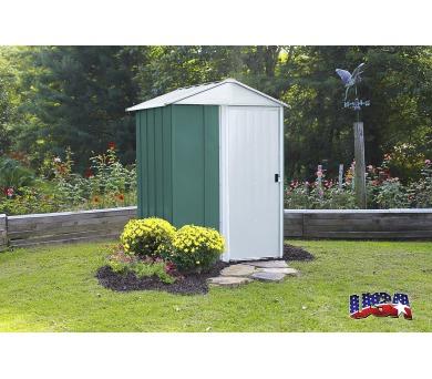 Zahradní domek Lanit Plast ARROW DRESDEN 54 zelený