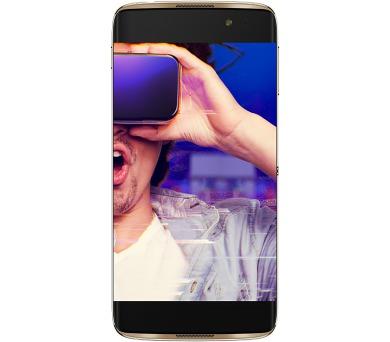 """Mobilní telefon ALCATEL IDOL 4S 6070K 5,5"""" + VR box - černý/zlatý"""