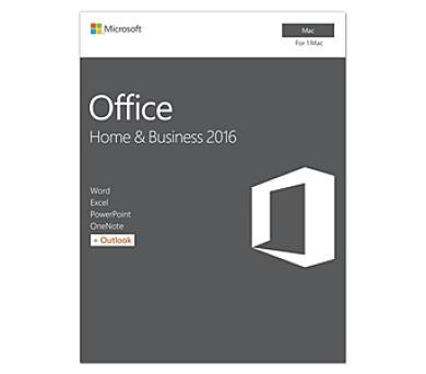 Microsoft Office Mac 2016 pro domácn. a podnikatele Eng + DOPRAVA ZDARMA
