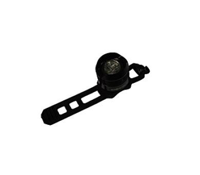 kolo Olpran super bílé LED přední - černá