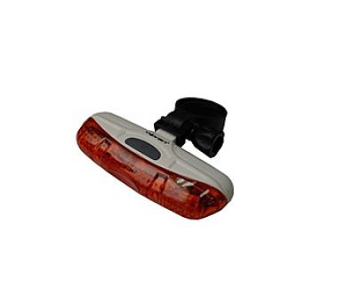 kolo Olpran 5 super červené LED zadní - šedá/červená