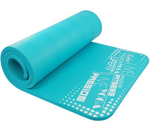 Lifefit Yoga Mat Exkluziv Plus 180x60x1,5cm - tyrkysová