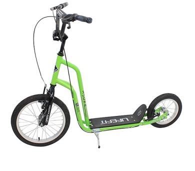 """Lifefit Rider 16""""/12"""" - zelená/černá + DOPRAVA ZDARMA"""