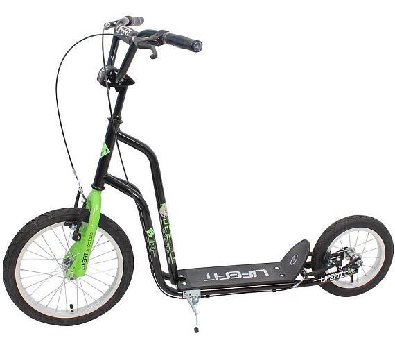 """Lifefit Rider 16""""/12"""" - černá/zelená + DOPRAVA ZDARMA"""